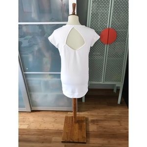 NWOT Athleta Summer Cocoon Mini Dress in White